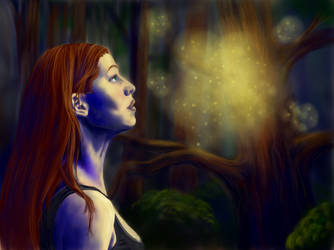 Fireflies by riepocaliptica