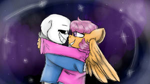 Scootaloo And Ambrixen Plushies By Cassie 2003 On Deviantart Scootaloo loves sans and nawnii furry fusion friday. ambrixen plushies by cassie 2003