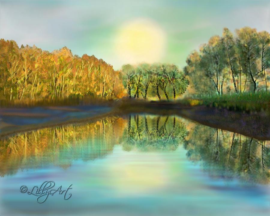 Herbstwald_Lillyart