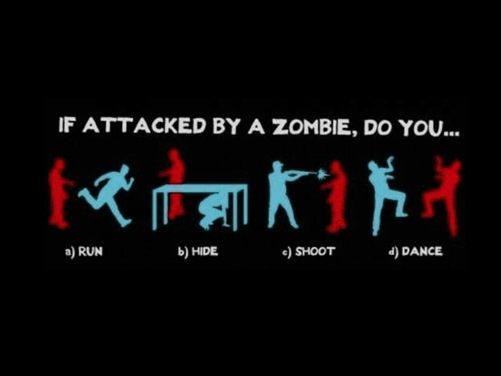 If attacked by Zombie... by TailsicaTFox