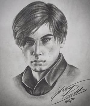 Resident Evil 2 - Leon S. Kennedy Portrait