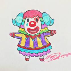 Animal Crossing - Pietro Portrait