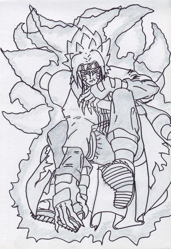 Naruto Sage Mode Kyuubi Remark by kriezna on DeviantArt