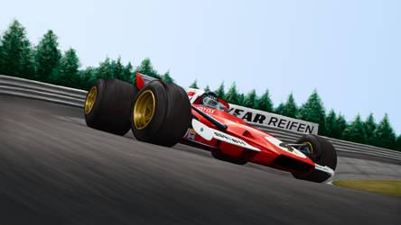 Jacky Ickx Ferrari 312B2