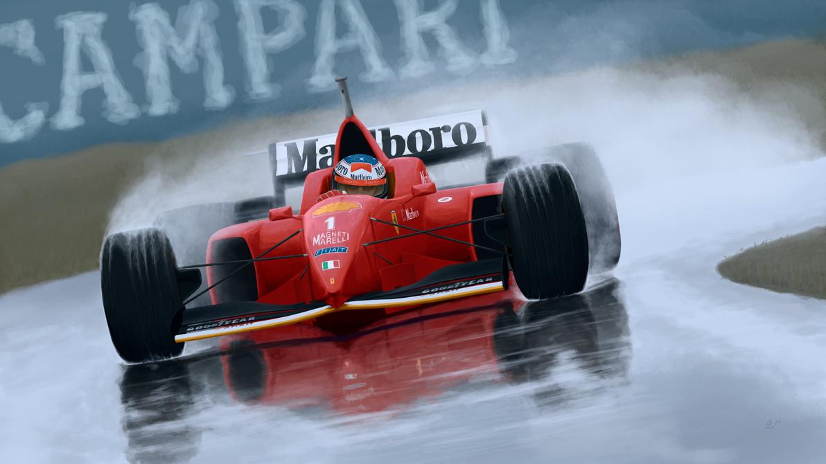 Schumacher - Spain 1996 by DonBarco