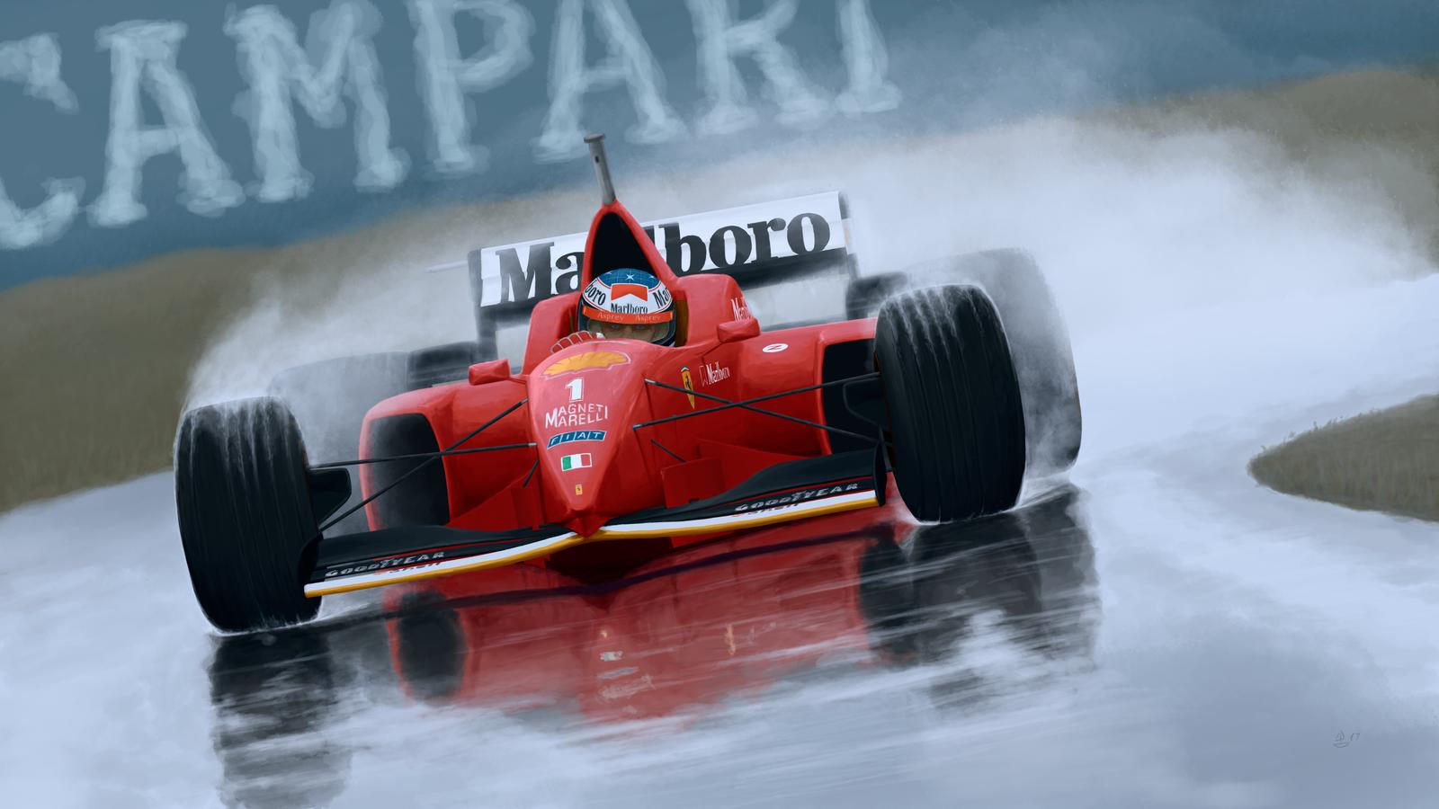 Michael Schumacher, Hiszpania 1996 Zapowiedź GP Hiszpanii 2018