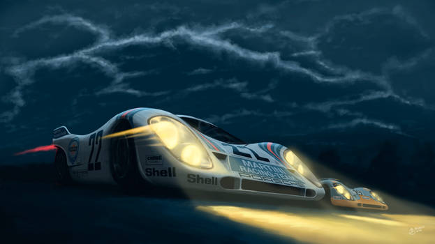 Porsche 917 - Le Mans 1971