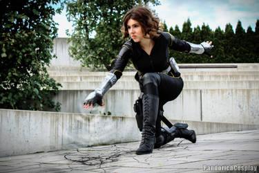 Daisy Johnson/Quake Cosplay (1)