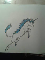 Unicorn by kuchisakeona