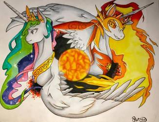 The Solar Empress by SnowFairy86