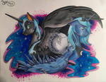 The Mare in the Moon by SnowFairy86