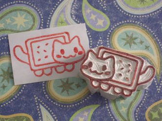 Nyan Cat Stamp :3 by xxNostalgic
