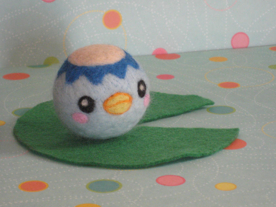 Felted Kappa Ball by xxNostalgic