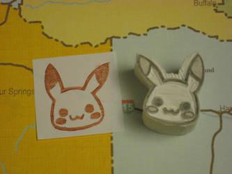 Pikachu Stamp o3o by xxNostalgic