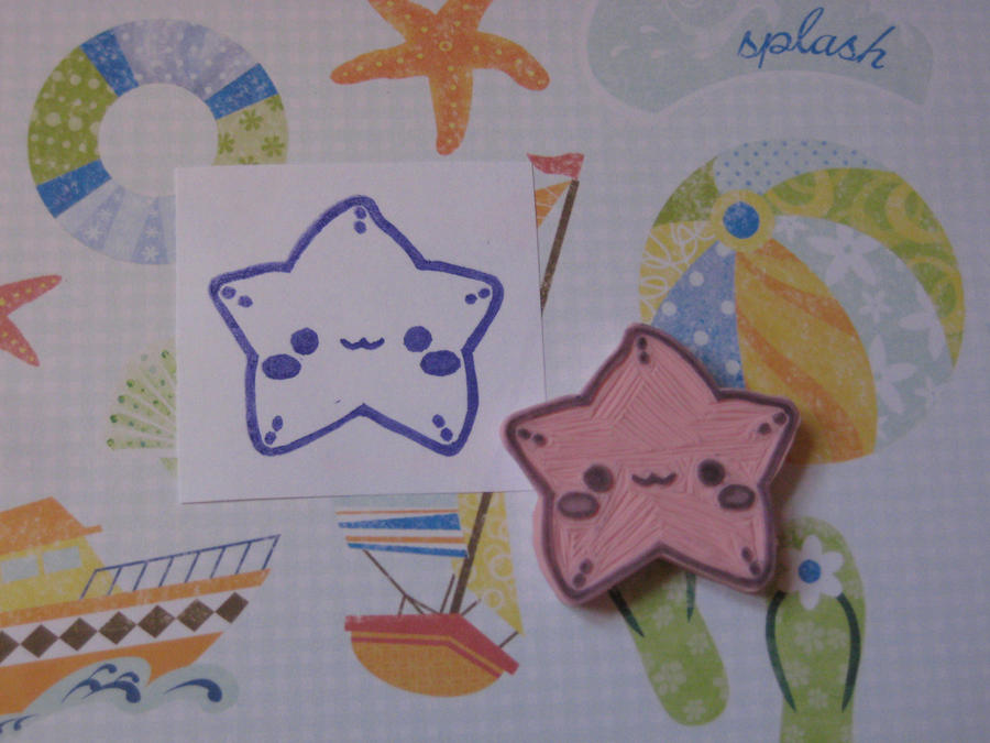Cute Starfish Stamp :3 by xxNostalgic