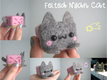 Felted Nyan Cat