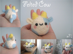 Felted Cow