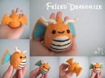 Felted Dragonite