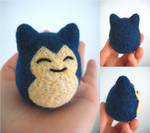 Felted Snorlax
