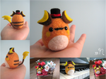 Felted Fancy Raichu