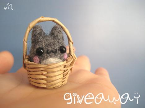 [CLOSED] Mini Totoro Giveaway