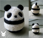 Felted Panda