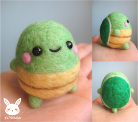 Felted Turtle