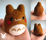 Felted Gingerbread Totoro