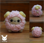 Felted Fluffy Sheep