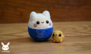 Felted Finn And Baby Jake