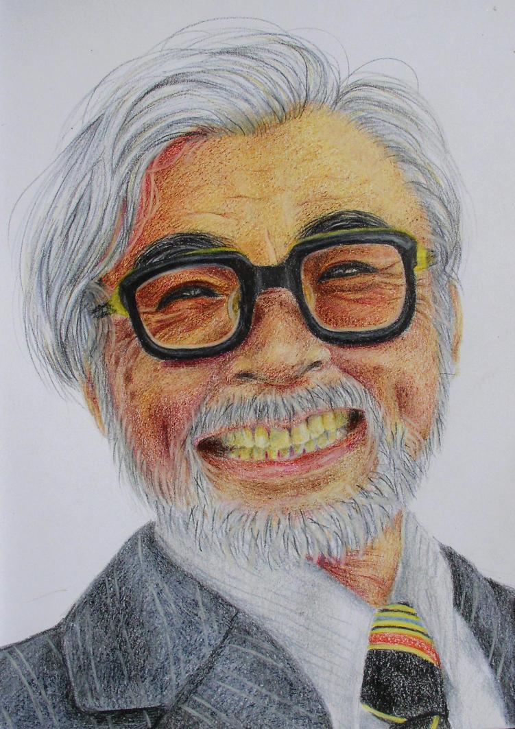 Hayao Miyazaki by BatWitch