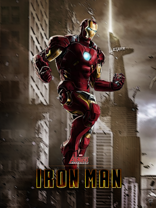 Iron Man - Marvel Avengers Alliance poster by P-DBIron Man Marvel Avengers