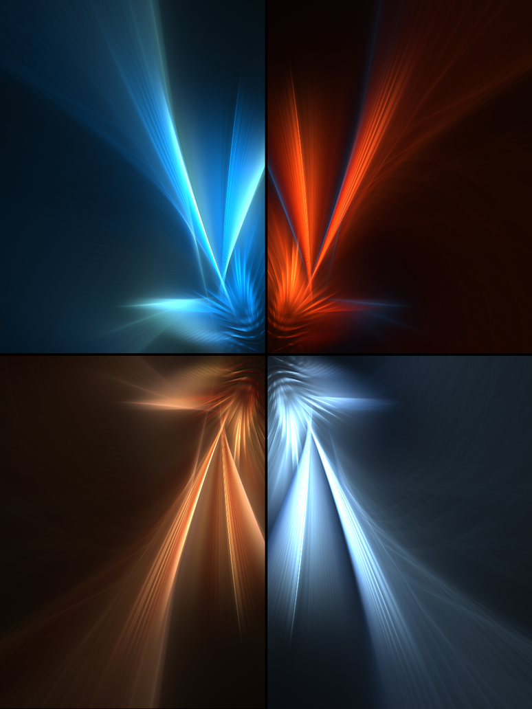 Four Elements Of Light By Will3style On Deviantart