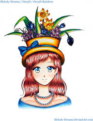 The Girl with the Flowery Hat