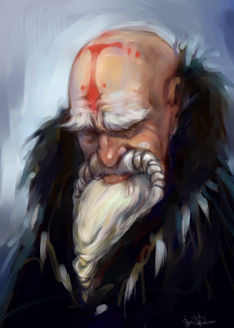 old man by SapDash
