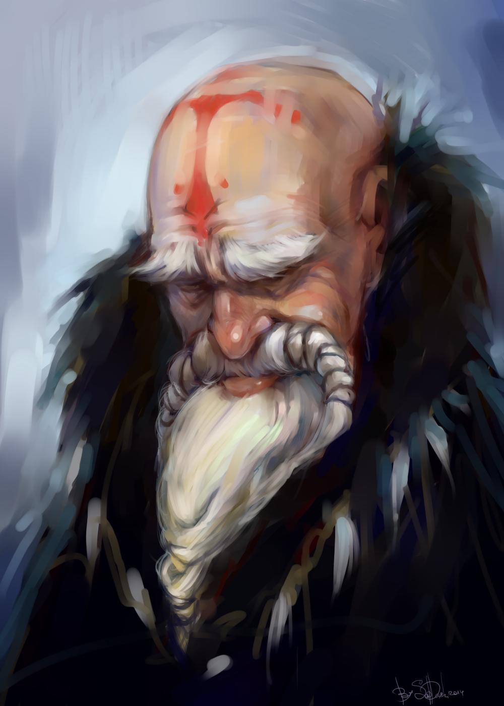 old man by SapDash