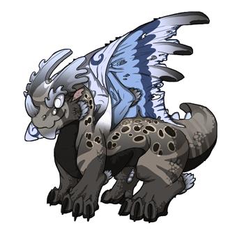 Trios dragon baby by Penjjadas