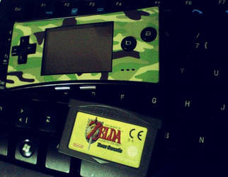 Nintendo Gameboy Micro + Zelda A link to the past
