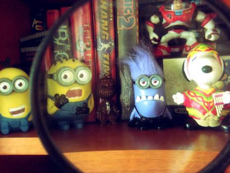 Evil blue Minions