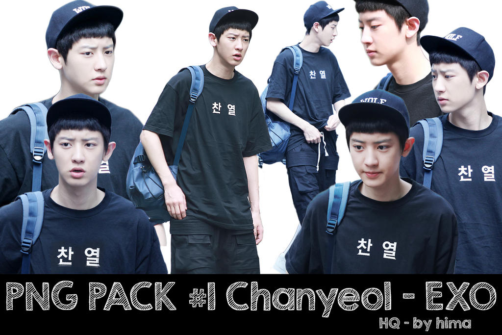 [ PNG ] Render pack #1 Chanyeol (EXO)  - HQ by himayeollie