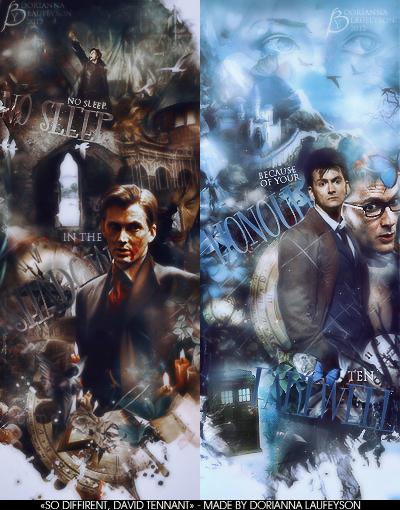 So different David Tennant by DoriannaLaufeyson