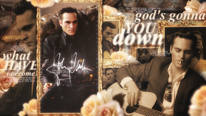 hello, i'm johnny cash by DoriannaLaufeyson