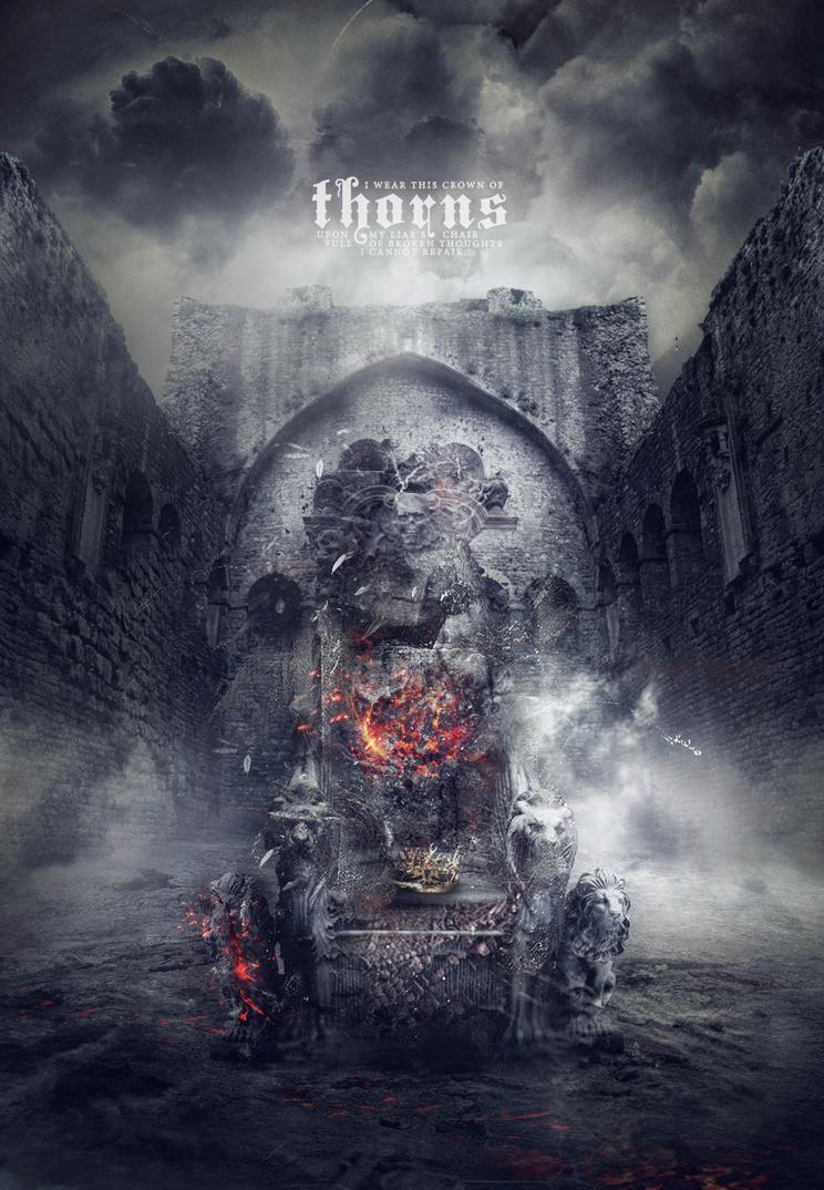 i wear this crown of thorns. by DoriannaLaufeyson