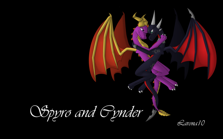 Spyro And Cynder Wallpaper By SlyNoodles