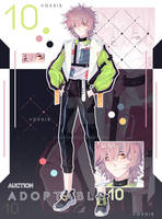[OPEN]Adoptable #10 AUCTION by VoXsis