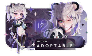 [OPEN]Adoptable #12 AUCTION by VoXsis