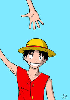 Luffy Doodle