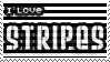 I love Stripes - Stamp by Demon1xo