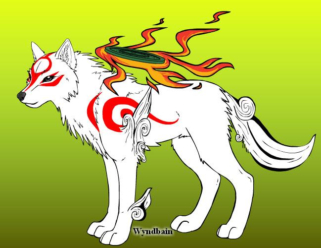 Okami-Wolf Creator by TophfaithWolf Link And Okami
