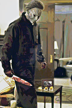 Michael Myers Painted 2